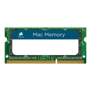 MÉMOIRE RAM Corsair Mac Memory DDR3 8 Go SO DIMM 204 broches 1