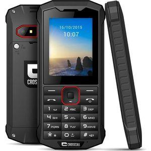 Téléphone portable Pack Pro Spider-X4 Noir + Housse de transport CROS