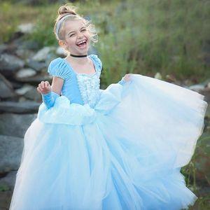 DÉGUISEMENT - PANOPLIE Robe de déguisement princesse bleu pour enfant 2-3