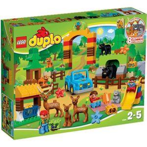 ASSEMBLAGE CONSTRUCTION LEGO® DUPLO 10584 Le Parc de la Forêt