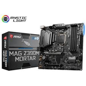 CARTE MÈRE MSI MAG Z390M Mortar, Intel Z390 Mainboard - Socke