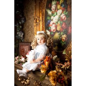 POUPÉE 60 cm Silicone Reborn Bébés Princesse Bambin Poupé