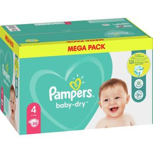 COUCHE Pampers Baby-Dry Taille4, 88Couches