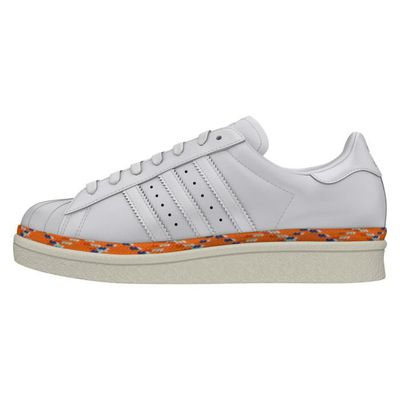 Femme Adidas Taille W New Superstar Couleur 40 80s Genre Basket Aq0872 Blanc Adulte Bold Age fqwO7OSxd