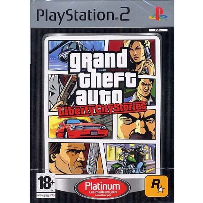 JEU PS2 GRAND THEFT AUTO