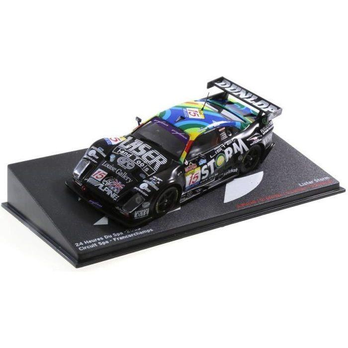 Voiture miniature Lister Storm 2003 1-43 24 Heures du circuit Spa Francorchamps