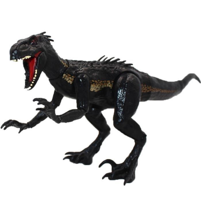 Console Éducative,15cm Indoraptor Jurassic Park World 2 dinosaures figurine mobile articulée jouets classiques pour - Type Black