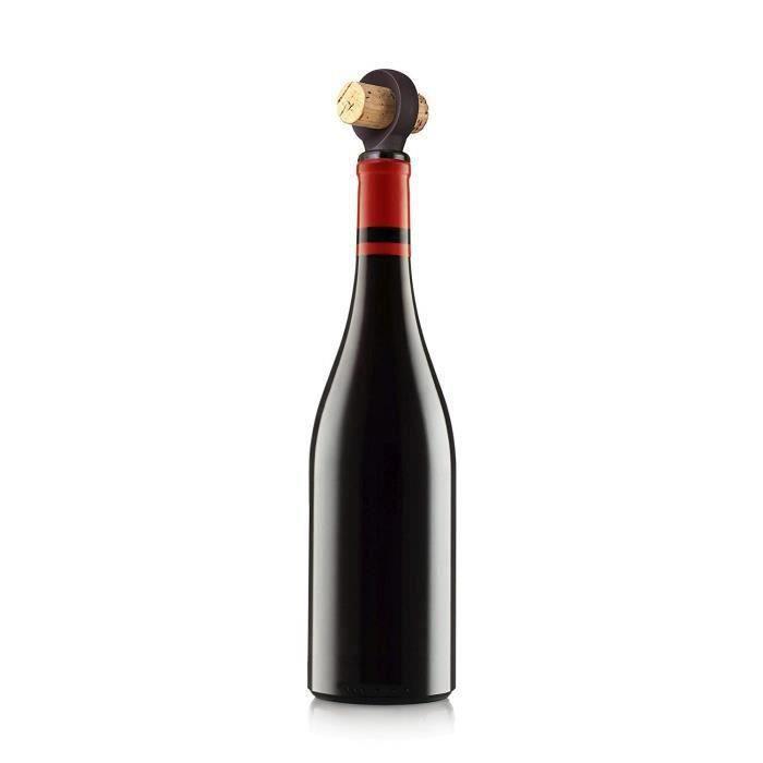 Vacu Vin 08875606 Bouchon de Bouteille 2 x 3,5 x 6 cm Lot de 2