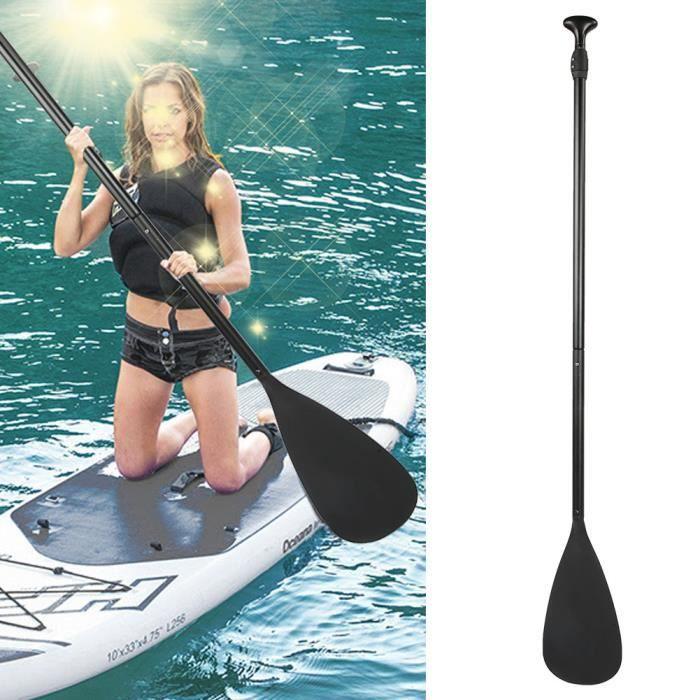 Pagaie, SUP Black Surfing Paddle, Bateau pour le surf