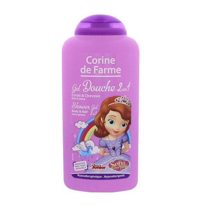 Disney Princesse Sofia Gel Douche 2en1 250 ML