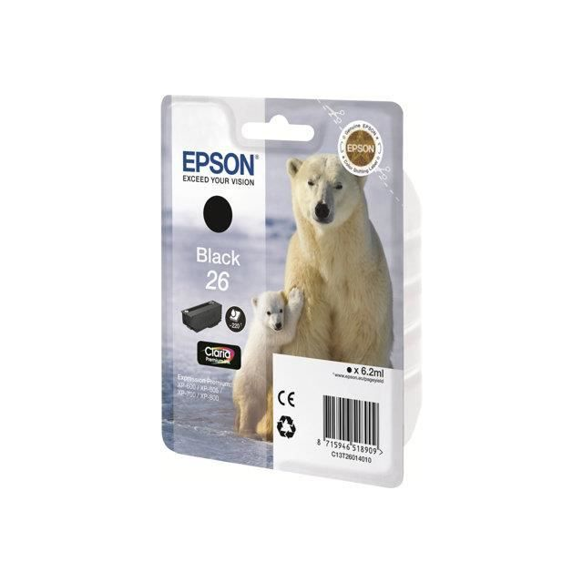 Epson Cartouche T2612 Ours polaire Cyan