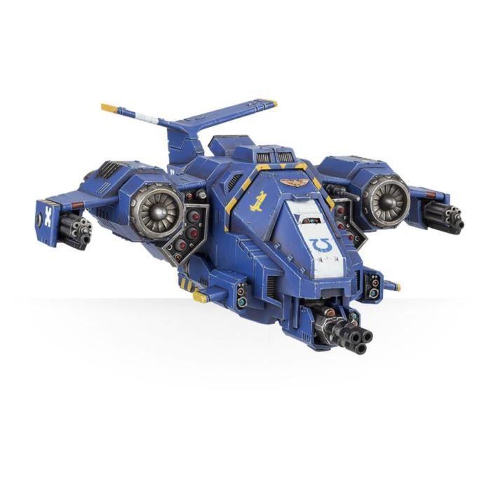 Games Workshop Stormhawk Interceptor, Figurine à collectionner, Jeu vidéo, Gris, Adultes et enfants, Warhammer 40000, Plastique