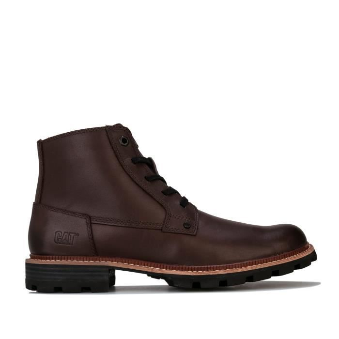 Caterpillar Boots Wayward Waterproof Marron Foncé Homme