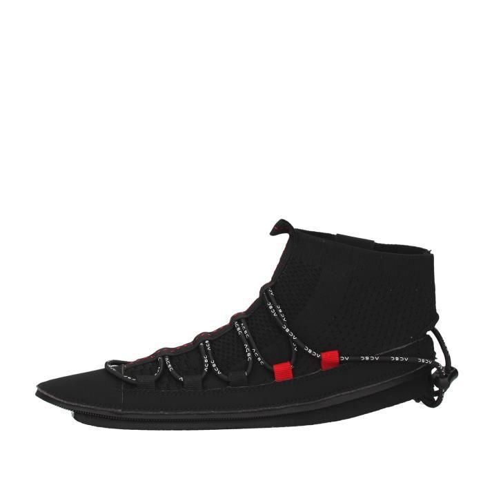 Acbc SKLA107 chaussures de tennis haute Femme NOIR