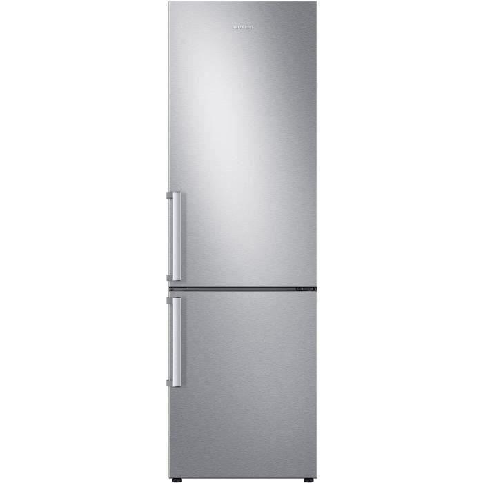 SAMSUNG RL36T620FSA - Réfrigérateur combiné - 360L (248L + 112L) - Froid Ventilé - L59,5cm x H193.5cm - Metal Grey - Pose Libr