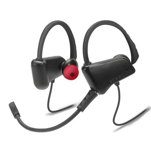 Speedlink JUZAR écouteurs gaming, noir-rouge Noir