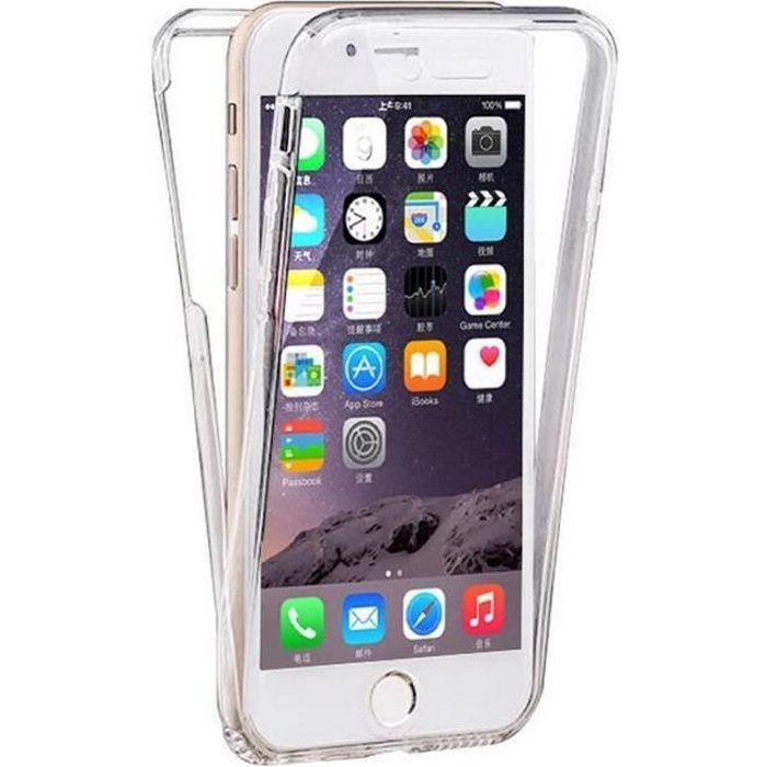 coque iphone 8 plus avant arriere silicon