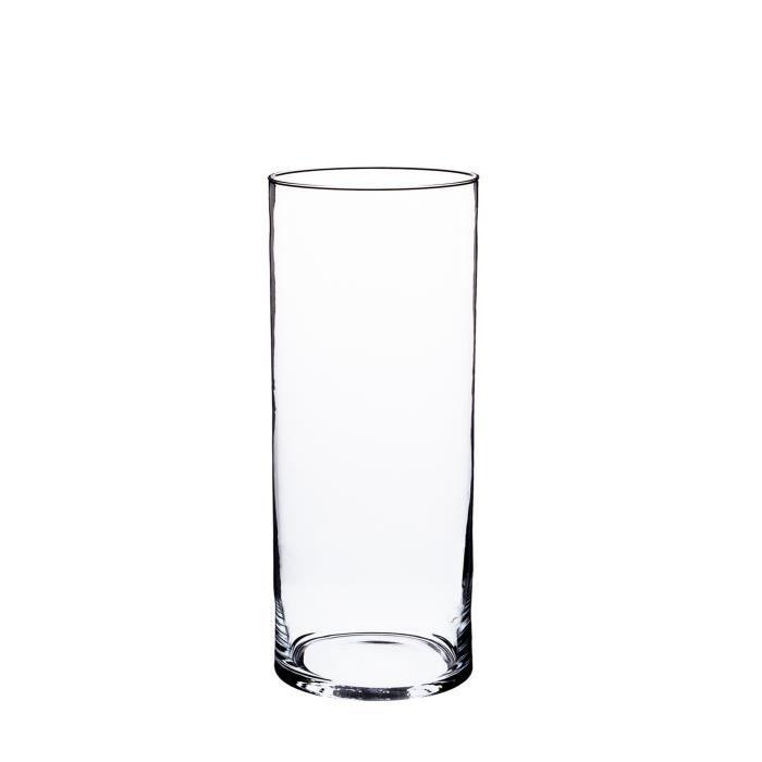 Cylindre Bougie Vase Lot de 3