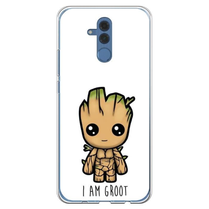 Coque Huawei Mate 20 LITE - I am Groot - Je s'appe