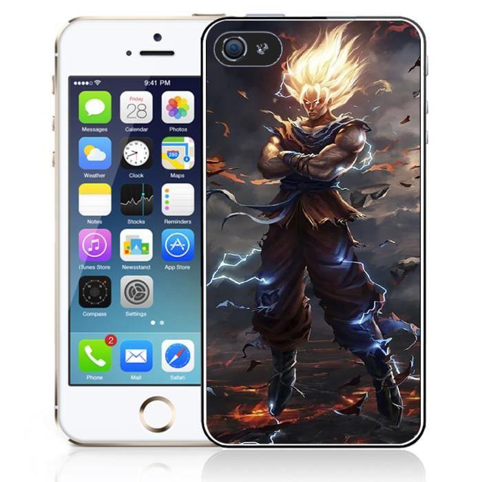 coque iphone 5c dbz super saiyan