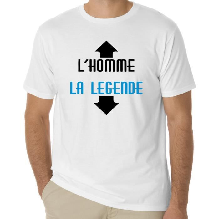 vetement tee shirt humour imprim blanc blanc achat vente t shirt cdiscount. Black Bedroom Furniture Sets. Home Design Ideas