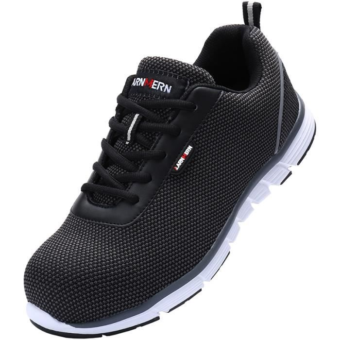 Baskets de sport de bottes de travail des chaussures de sécurité des léger Été