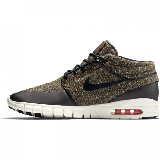 finest selection 7dba9 03665 NIKE SB - Stefan Janoski Max Mid - Baskets - 807507 Marron Marron - Achat    Vente basket - Cdiscount