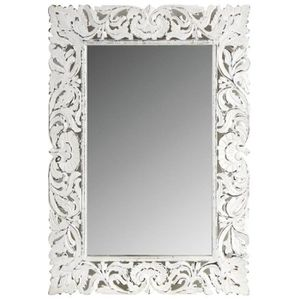 miroir baroque blanc achat vente miroir baroque blanc pas cher cdiscount. Black Bedroom Furniture Sets. Home Design Ideas