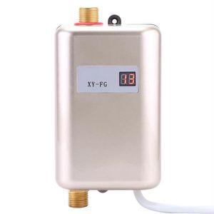CHAUFFE-EAU 220V 3800W Mini Chauffe-eau instantané électrique