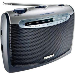 RADIO CD CASSETTE Philips AE2160 Radio Portable avec Prise Casque, A