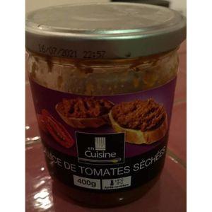 TOMATE lot 6 delices de tomates sechees 400 gr en cuisine
