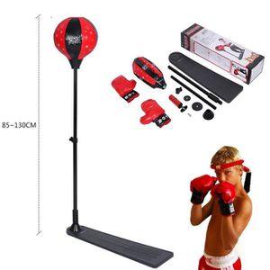 OUTAD Punchingball Boxe Set avec des gants de boxe et de la pompe balle de frappe pour les jeunes de la jeunesse hauteur r/églable de 72 /à 108 cm