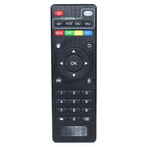 TÉLÉCOMMANDE TV NOVA  Noir PC Télécommande pour MXQ PRO M8S Androi