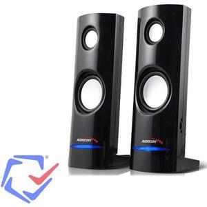 ENCEINTES ORDINATEUR  Haut-parleurs Enceinte pour ordinateur portable U