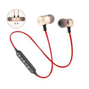 OREILLETTE BLUETOOTH Ecouteur Bluetooth Magnétique Or