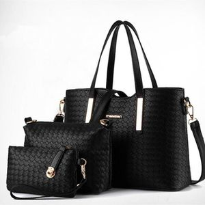 SAC À MAIN AZTEK Set de sacs noirs - Sac à main + sac à bando