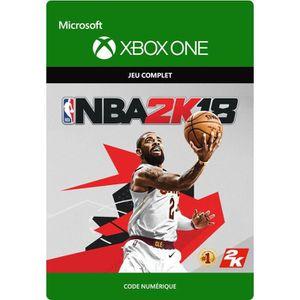 JEU XBOX ONE À TÉLÉCHARGER NBA 2K18 Jeu Xbox One à télécharger