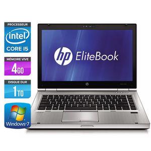 PC RECONDITIONNÉ Ordinateurs portables HP EliteBook 8470P - Core i5