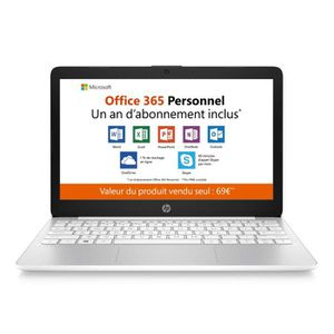 ORDINATEUR PORTABLE HP - Stream 11-ak0001nf - PC Portable - 11.6'' HD