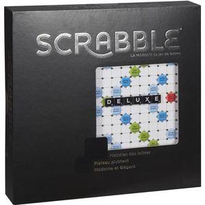 JEU SOCIÉTÉ - PLATEAU SCRABBLE - Scrabble Deluxe - Jeu de Société - Scra