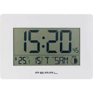 HORLOGE - PENDULE Horloge radio-pilotée avec température et date - c
