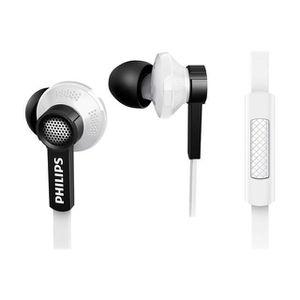 CASQUE - ÉCOUTEURS Philips - TX1WT - Ecouteurs intra-auriculaires ave
