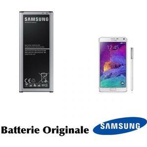 Batterie téléphone Batterie Originale Samsung pour Galaxy Note 4 SM-N