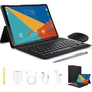TABLETTE TACTILE Tablette Tactile 2 en 1 Book Noir -Tab 4G Double S