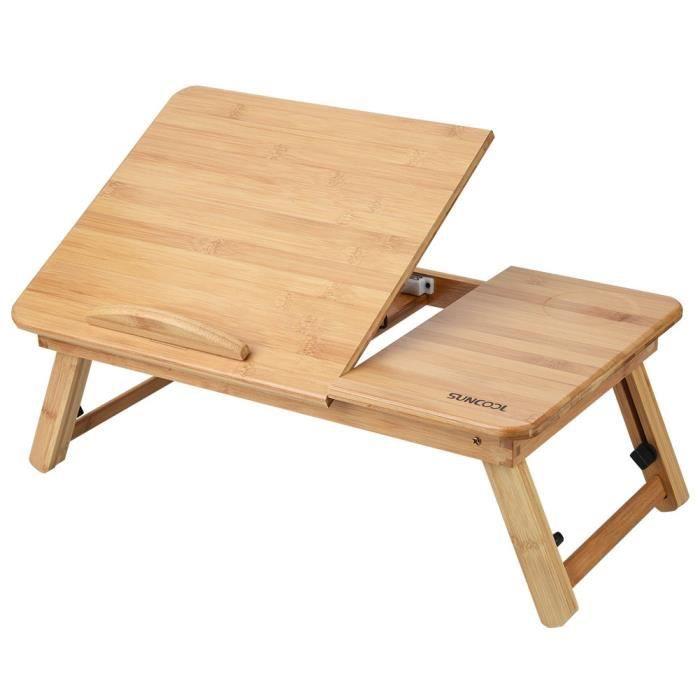 Table de Lit Pliable pour Ordinateur 50 * 30