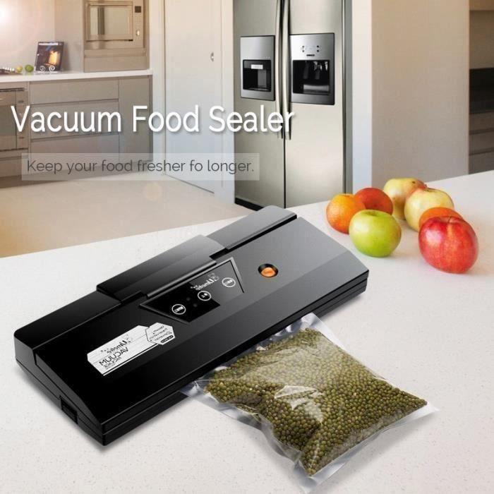 AVANC scelleuse Machine Emballage Sceller SOUS VIDE Aliment Automatique Humide Sec 220V PRISE US