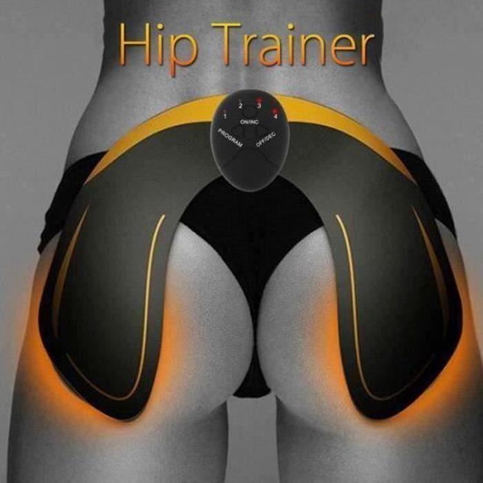 Hips Trainer Electrostimulateur Musculaire Hanches, Appareil de Fesse Massage, Hanches Trainer Benéfice à Façonner Le Muscle D035FA