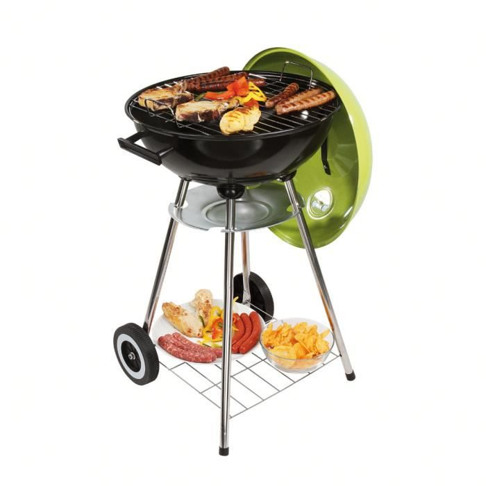 Barbecue à charbon vert DOC172V