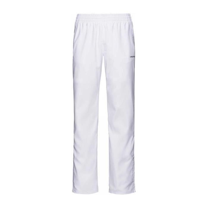 Head Club Hommes Pantalon tennis blanc