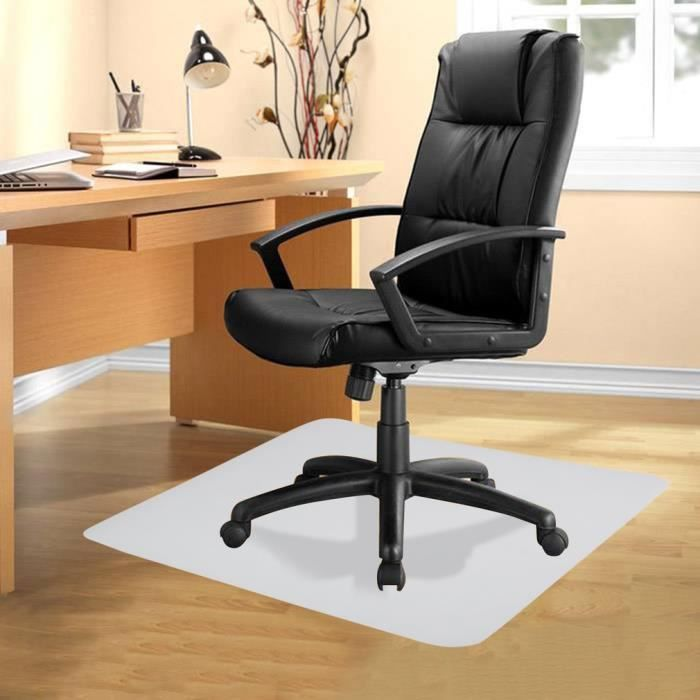 Tapis Protège-sol - Tapis Chaise de Bureau - Protection Sol Dur, Parquet, Lino - 120*120*0.18CM